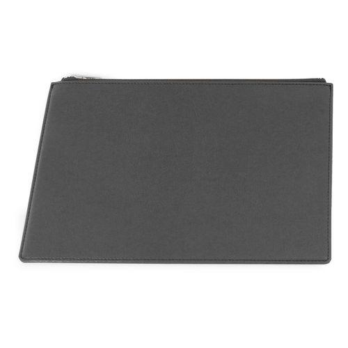 Pochette zippée 281 x 180 x 6 mm en cuir recyclé E-Leather