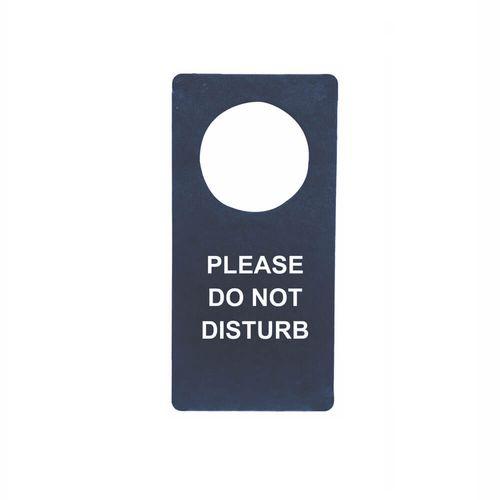 Pancarte de poignée de porte en simili de couleur