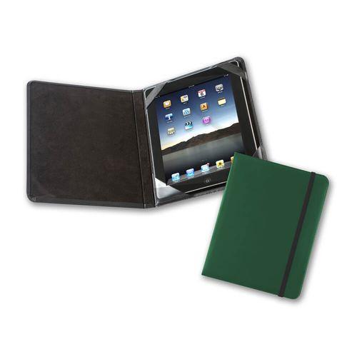 Protège tablette façon carnet en cuir Hampton de couleur