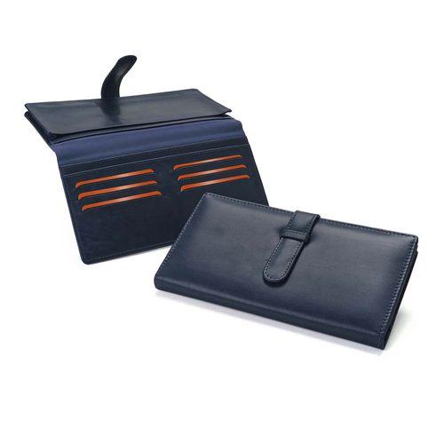 Portefeuille femme en cuir Sandringham de couleur