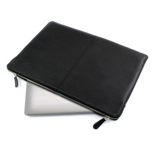 Protège tablette en cuir Sandringham noir
