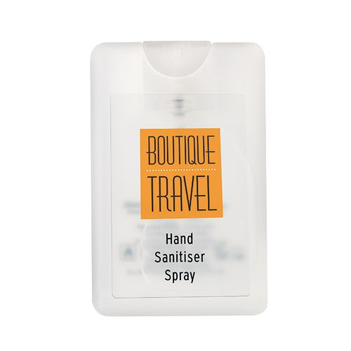 Spray antibactérien sans rinçage carte de crédit 20ml