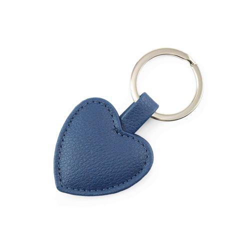 Porte-clé en forme de cœur en rPET