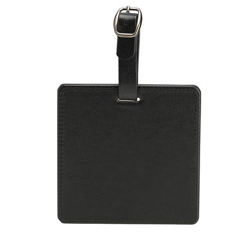 Etiquette sac de golf carrée
