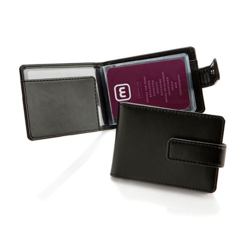 Porte-cartes à feuillets en rPET