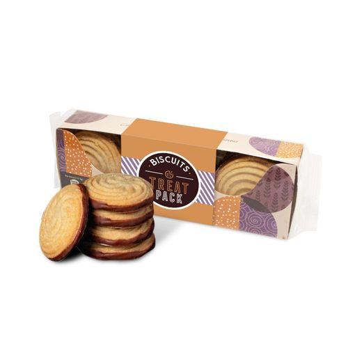 Boite carton filmée - Biscuits Border
