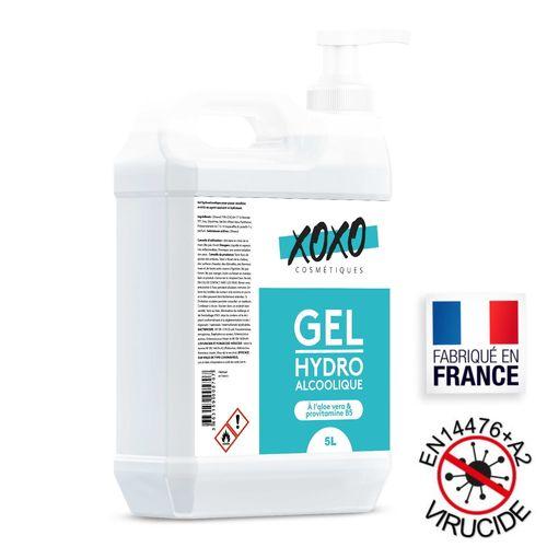 Gel hydroalcoolique 5L - 74% d'alcool