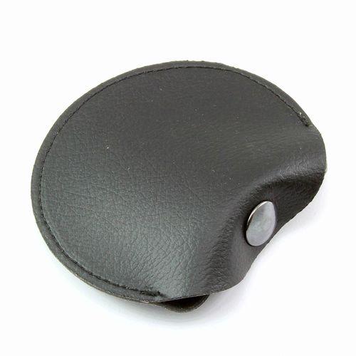 Pochette pour pièces ou écouteurs en cuir Hampton de couleur