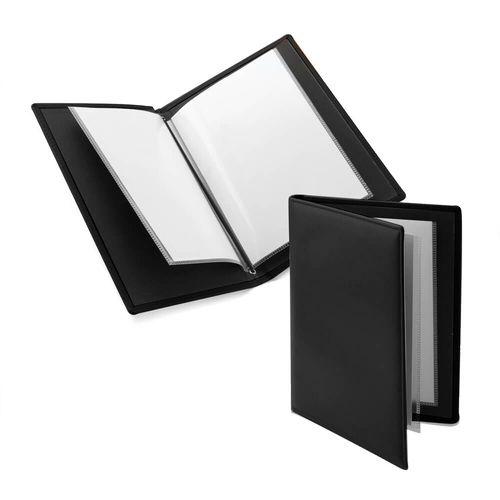 Protège document A5 (4 pochettes) en cuir recyclé E-Leather