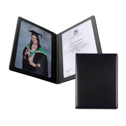 Protège document A4 en cuir recyclé E-Leather