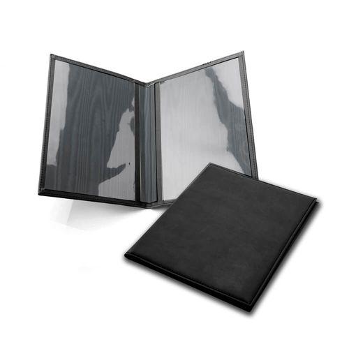 Protège document A5 en cuir recyclé E-Leather