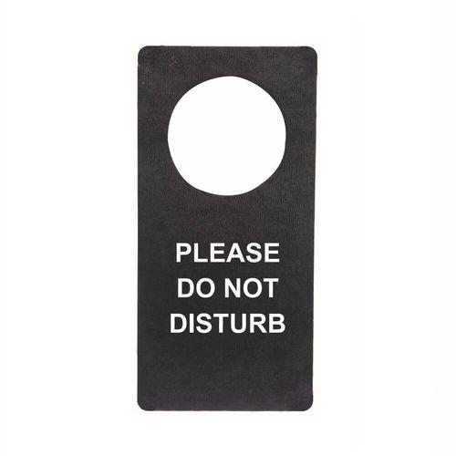 Pancarte de poignée de porte en rPET