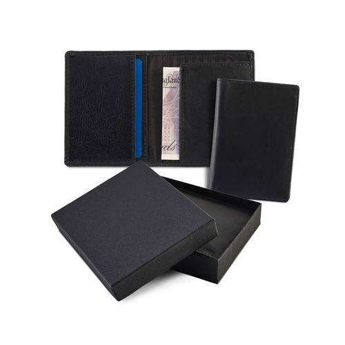 Porte cartes en cuir Sandringham de couleur
