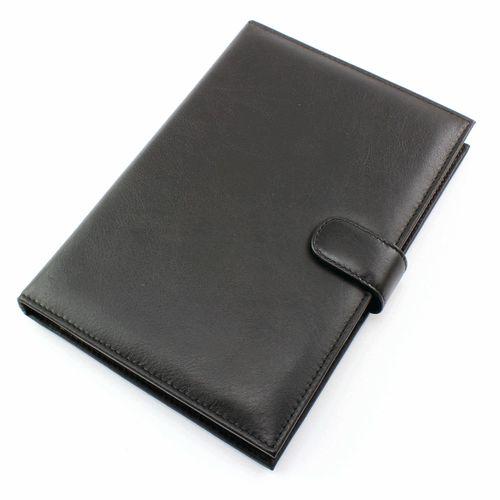 Protège carnet A5 en cuir Sandringham