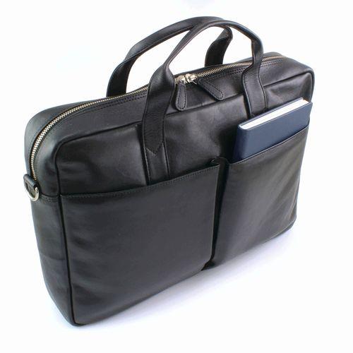 Sacoche pour portable en cuir Sandringham
