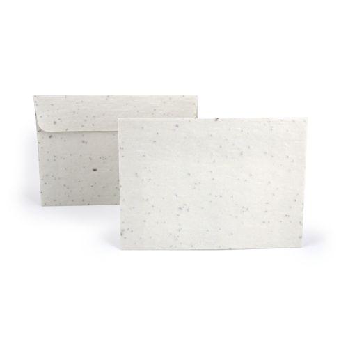 Enveloppe en papier graines petite, Objet personnalisable, comité social économique