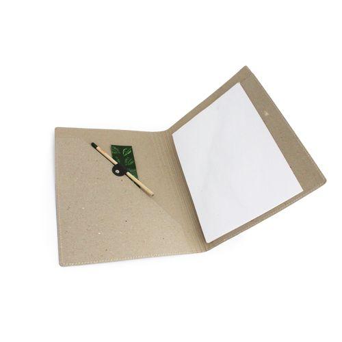 Conférencier A4 carton recyclé, Objet personnalisable, comité social économique