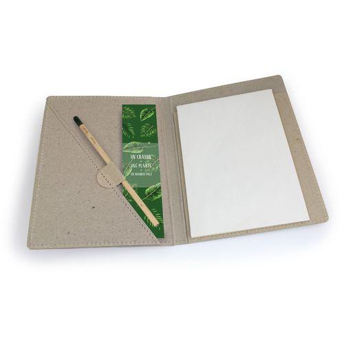 Conférencier format A5 + crayon à graines