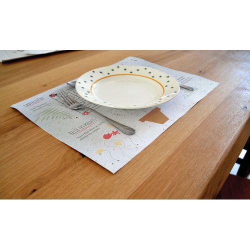 Set de table Graines