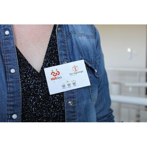 Badge à semer personnalisé Nature & Graines goodies objets publicitaires