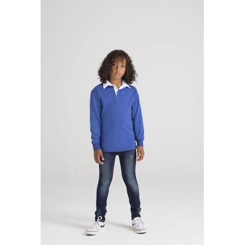 CHILDREN'S LONG SLEEVES RUGBY SHIRT