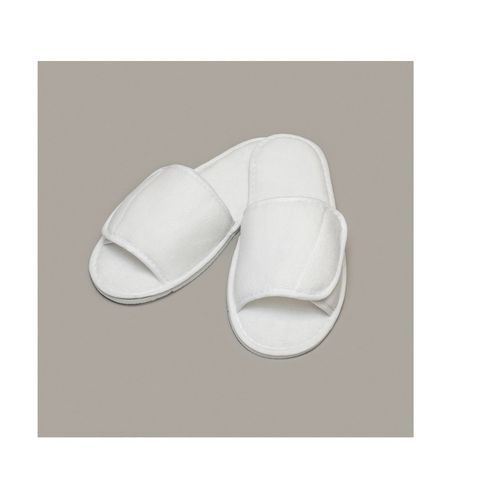 OPEN TOE SLIPPERS WITH SIDE FASTENING Objets publicitaires