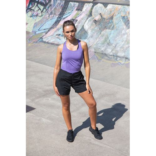 LADIES' FLAT FRONTED SHORTS