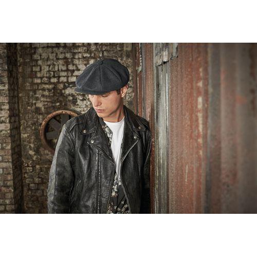 MELTON WOOL BAKER BOY CAP