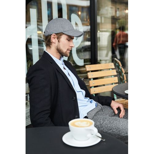 MELTON WOOL 6 PANEL CAP