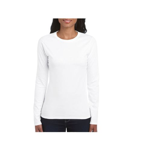 SOFTSTYLE LADIES' LONG SLEEVE T-SHIRT