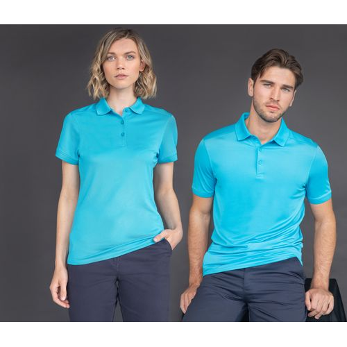 LADIES' STRETCH POLYESTER POLO SHIRT