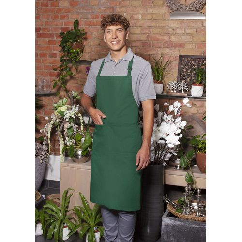 Bib Apron Basic with Buckle and Pocket