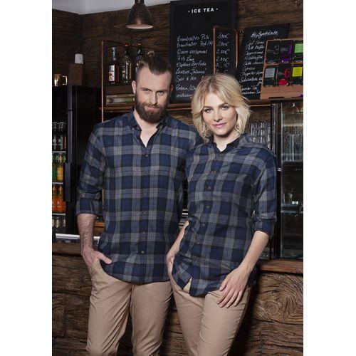 Men's Checked Shirt Urban-Style