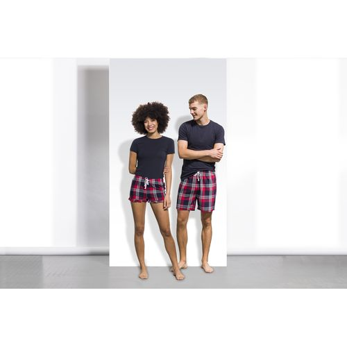 MEN'S TARTAN LOUNGE SHORTS