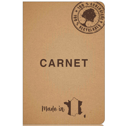 Carnet Made in France INE 21 (140 x 210 mm)