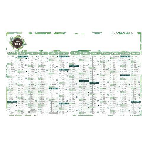 CALENDRIER AQUARELLE INC 65 (650 x 405 mm)