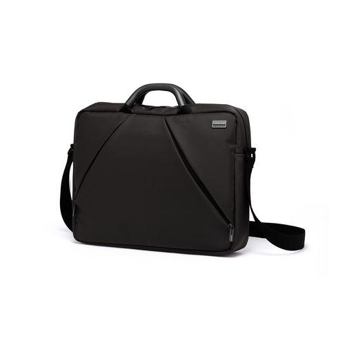 PREMIUM+ LARGE LAPTOP BAG Porte-documents - Compartiment ordinateur 15-16'' - Bandoulière large - 2 poignées aluminium - Capacité : 10L