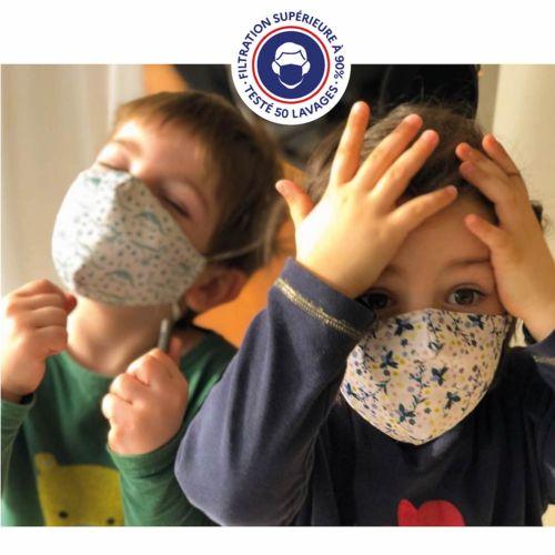 Masque KIDS UNS 1 - MASQUITA - Personnalisable en sublimation
