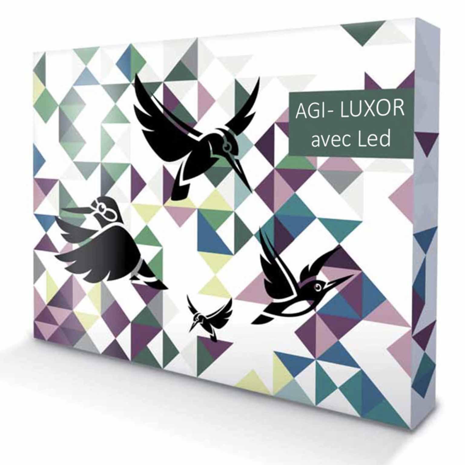 Stand de luxe Parapluie AGI - LUXOR Avec LED