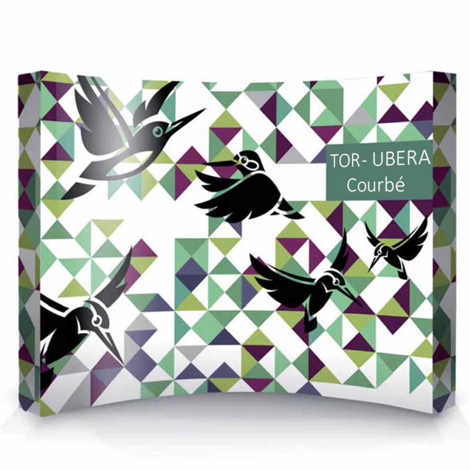 Stand de luxe ParapluieTOR - UBERA Courbé