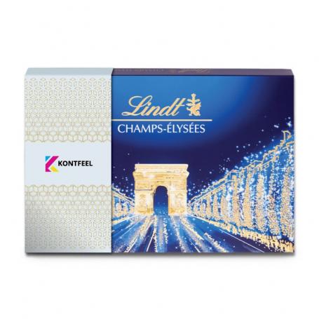 Boite personnalisée Lindt champs-Elysées