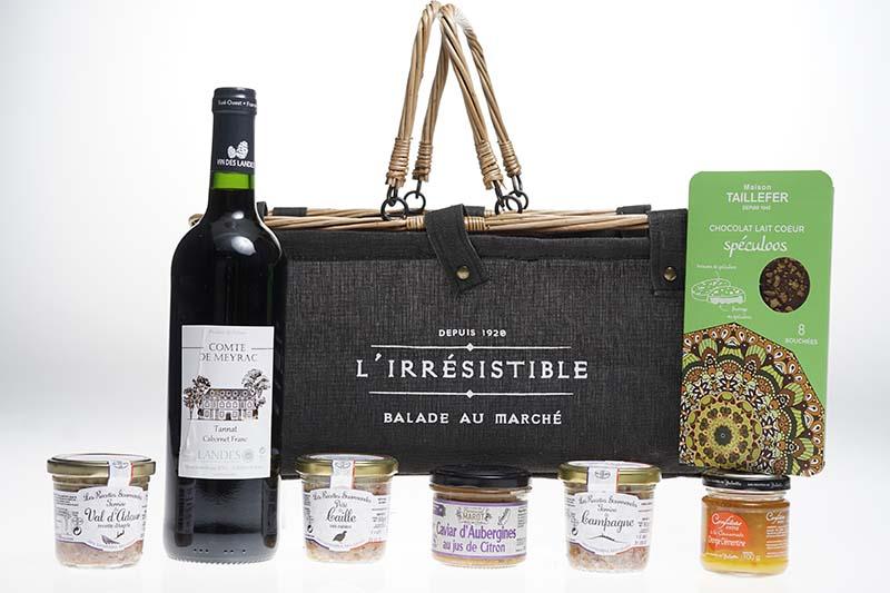IRRESISTIBLE - Panier Gourmand
