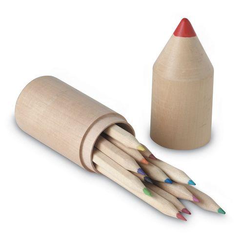 Set 12 crayons PERSONNALISABLE