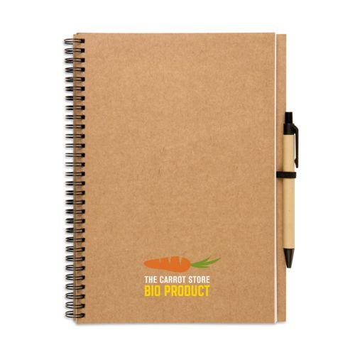 Bloc-notes recyclé 70 pages objet publicitaire original