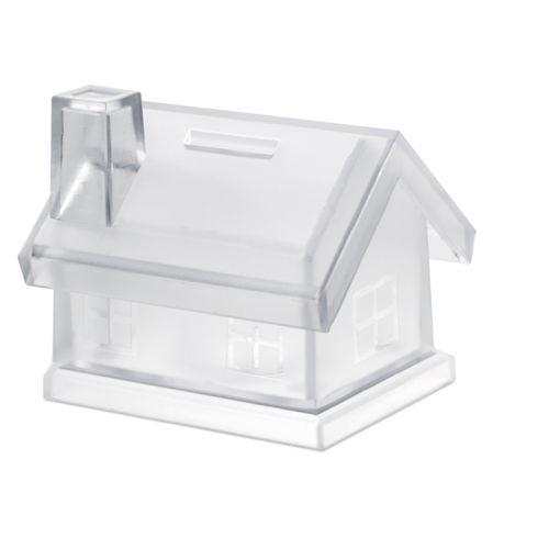 Tirelire maison plastique
