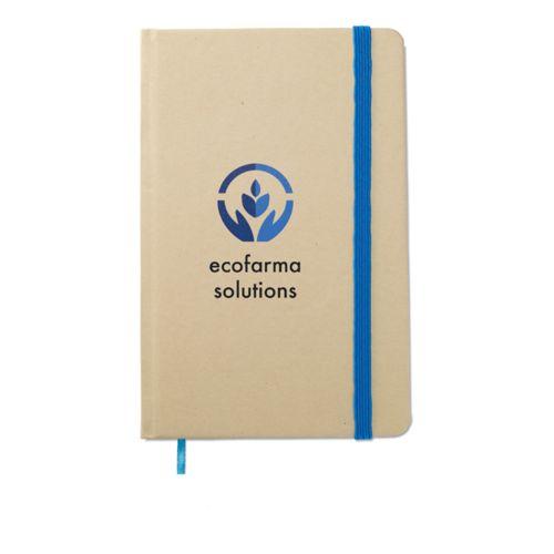 Calepin en papier recyclé - ISOCOM - OBJETS ET TEXTILES PERSONNALISES - NANTES