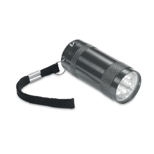 Lampe torche avec lanyard.