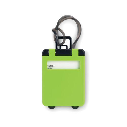 TRAVELLER Étiquette de bagage en plastiq