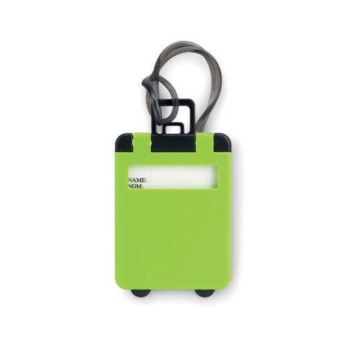 Étiquette de bagage en plastiq