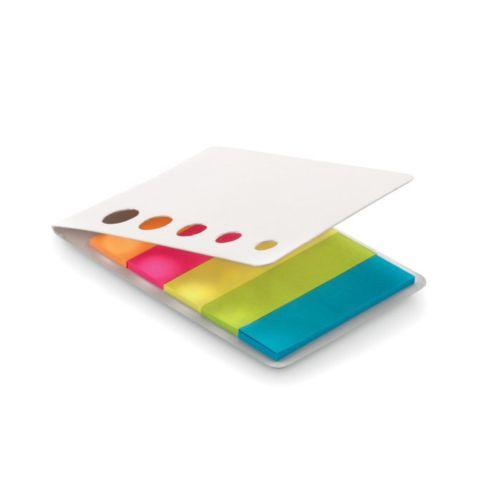 MEMOSTICKY Marqueurs adhésifs 5 couleurs